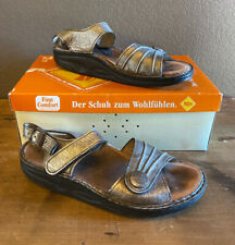 Finn Comfort Sausalito Women Corten Espresso Sandal Shoe US 9 EUR 40