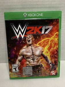 WWE 2K17 Microsoft Xbox One 2016 Replacement Case NO GAME