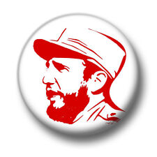 Fidel Castro 1 Inch / 25mm Pin Button Badge Cuba Prime Minister Socialist Leader