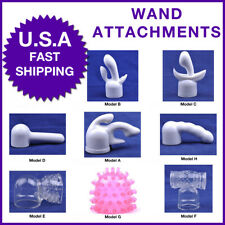 Head Cap Attachments for Magic Wand & Other Full Size Wands Massage