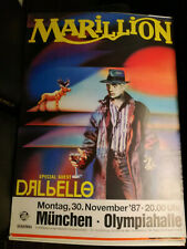 Plakat Marillion Concert 1987 München  A1