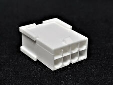 ATX PCIe male connector 8 pin conector incl. 8 terminales Pins-blanco