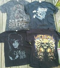 13 band t shirts lot! trivium, suicide silence, icp, skillet. size M.  30% off!!