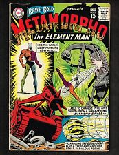 Brave and the Bold #58 ~ Metamorpho The Element Man ~ 1965 (3.0) Wh