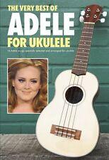 The Very Best of Adele for Ukulele Sheet Music Ukulele Chord SongBook  000703293