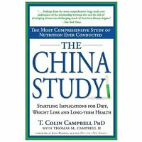THE CHINA STUDY by Thomas Colin Campbell a paperback book FREE USA SHIPPING diet