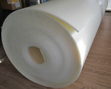 """1/4""""  x 30 """"  x   60""""  Hi Dense  CLOSED CELL Uphol crafting   Foam  Off White"""