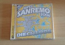 SUPER SANREMO 2006 - DIECIELODE - CD SIGILLATO (SEALED)