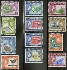 Pitcairn Islands  1957-58  Scott # 20-31 MLH Set