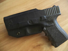 Holster Gun Gl*** 19 23 32 Custom Black Kydex IWB Right Hand Adjustable LH OWB
