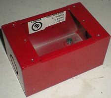 ELECTRICAL BOX-1 GANG EDWARDS 27193-11 RED SURFACE BUILDING SYSTEMS FIRE NEW