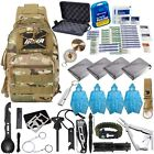MIKA Premium Survival Gear and Equipment Shoulder Bag, 51 in 1 Emergency kit