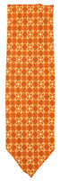 "New Finamore Napoli Orange Floral Tie - 3.25"" x 58"" - (TIEFLORX81)"