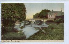 (Ga4212-100) Town Bridge, STAMFORD 1904 Used VG+
