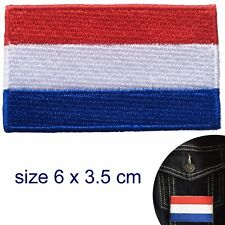 Netherlands flag iron on patch Dutch Holland Amsterdam Netherland patches