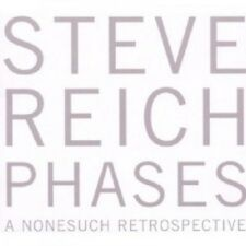 Steve Reich-phases-a Nonesuch Retrospective 5 CD 50 tracks CLASSIC NUOVO