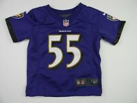 Baltimore Ravens Terrell Suggs Jersey Youth Large 14-16 Boys Kids ...