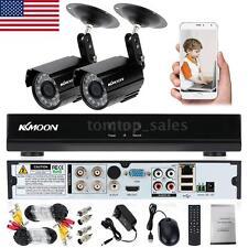 4CH 960H D1 HDMI CCTV DVR Outdoor 800TVL Camera Video Recorder Security System
