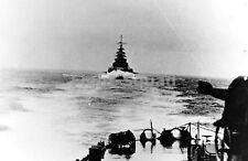 WW2 Picture Photo Bismarck at sea seen from Prinz Eugen May 1941 1175 DE