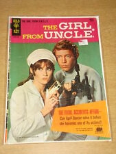 GIRL FROM UNCLE #1 VG- (3.5) GOLD KEY COMICS JANUARY 1967