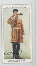 1937 Tobacco Base #48 State Trumpeter Household Cavalry Non-Sports Card 1x2