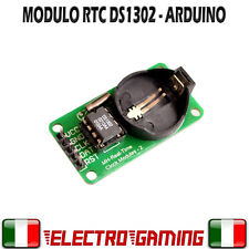 Modulo RTC DS1302 Real Time Clock Timer clock INTEGRATO 1302 - BE43
