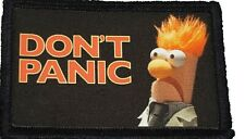 Muppets Beaker Don't Panic Morale Patch Tactical Military Army Flag USA Badge