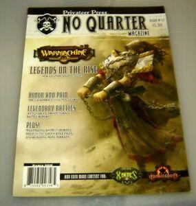 No Quarter Magazine #17 Warmachine Hordes Privateer Press....