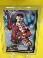 2019 Topps Holiday Shohei Ohtani Stocking SP Angels Rookie Cup
