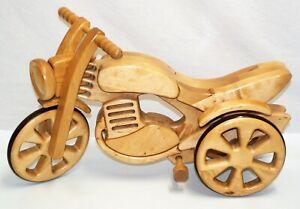 Laufrad Holzmotorrad Ökologisches 3 Rad Trike Kinder > 3 Jahren oder DEKORATION