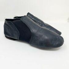 REVOLUTION DANCEWEAR Black Leather Dance Shoes Women's size 9