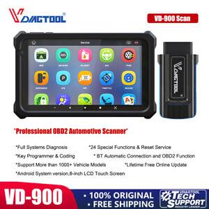 VD900 Car OBD2 Diagnostic Scanner Auto Key Programming&Coding ABS DPF Reset Tool