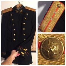 Soviet 4 Star Captain Naval uniform tunic Russian WWII ? USSR jacket Admiral