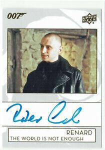 007 James Bond Collection 2019 Autograph Card A-RC Robert Carlyle as Renard