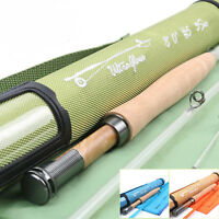 Ultraglass 3/5/6wt Transparent Fiberglass With Cordura Tube Fly Fishing Rod