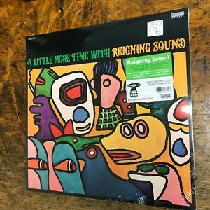 REIGNING SOUND A Little More Time With 2021 LP sealed Colored VINYL Record NEW