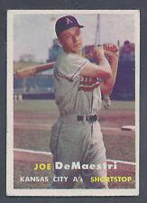 1957 Topps #44 Joe DeMaestri Kansas City Athletics VG-EX Plus