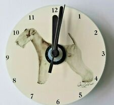 Lakeland Terrier CD Clock by Curiosity Crafts