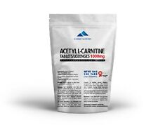 ACETYL L-CARNITINE (ALCAR, ALC) TABLETS 1000mg