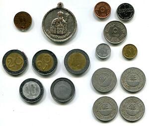 Mixed Arab Middle East Group: Algeria, Egypt, Iraq, Yemen (16 coins)
