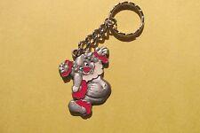 Pewter Clown Key Chain
