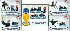 FOOTBALL SOCCER FIFA WORLD CUP 2018 FRANCE WINNERS MADAGASCAR MNH STAMP SET