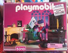 Playmobil Vintage Grandpa's Den Victorian Mansion Dollhouse 5310 New Sealed Box