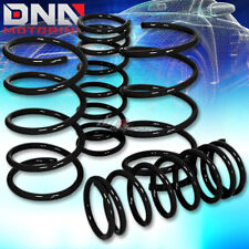 "FOR 95-99 MAXIMA A32 2""DROP SUSPENSION BLACK RACING LOWERING SPRING 275F/225R"