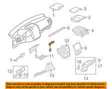 VW VOLKSWAGEN OEM 08-09 GTI Instrument Panel Dash-Center Molding 1K1858420Z88