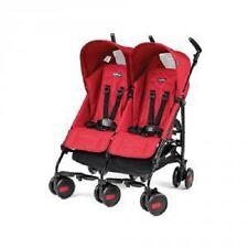 Passeggino Gemellare Pliko Mini Twin Mod 2016 Red Rosso