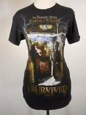 Cool Women's Small Disney Twilight Zone Tower of Terror Short Sleeve T-Shirt GUC