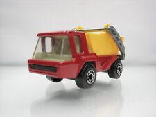 Diecast Matchbox Superfast Skip Truck No. 37 Red/Yellow Good Condition