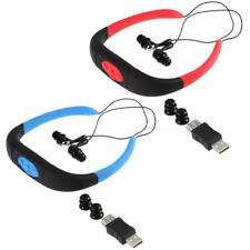 8GB Sport MP3 Player Waterproof Swimming Wireless Stereo Headsets FM TF SD N5Z0