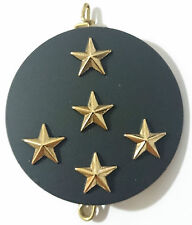 Insigne de béret avec 5 étoiles OR pour GÉNÉRAL Chef d'Etat Major des Armées